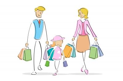 shopping for kids