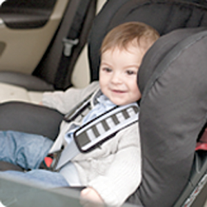 Travelling with your little one requires you to have a few pieces of general baby equipment. If you're visiting somewhere in a car, you'll need a car seat.