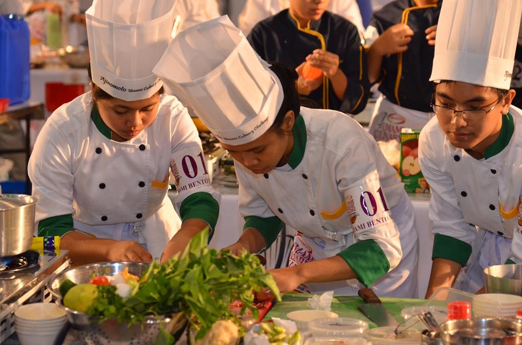 student competitors