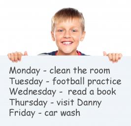 good planner kid