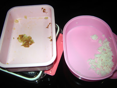 kids' empty lunchbox
