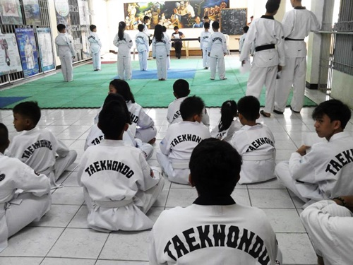 taekwondo sports