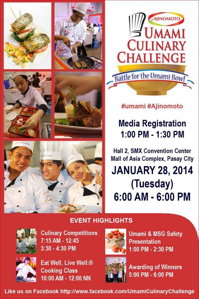 Ajinomoto Culinary Challenge