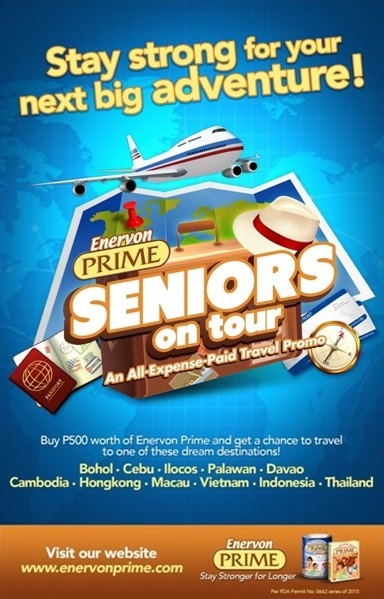Enervon Prime Seniors on Tour