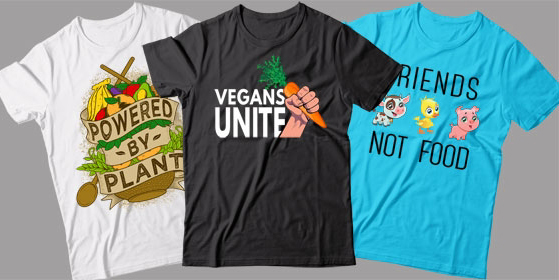 shirts for vegan friend