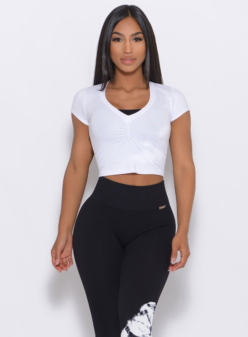 Bombshell sexy workout tops